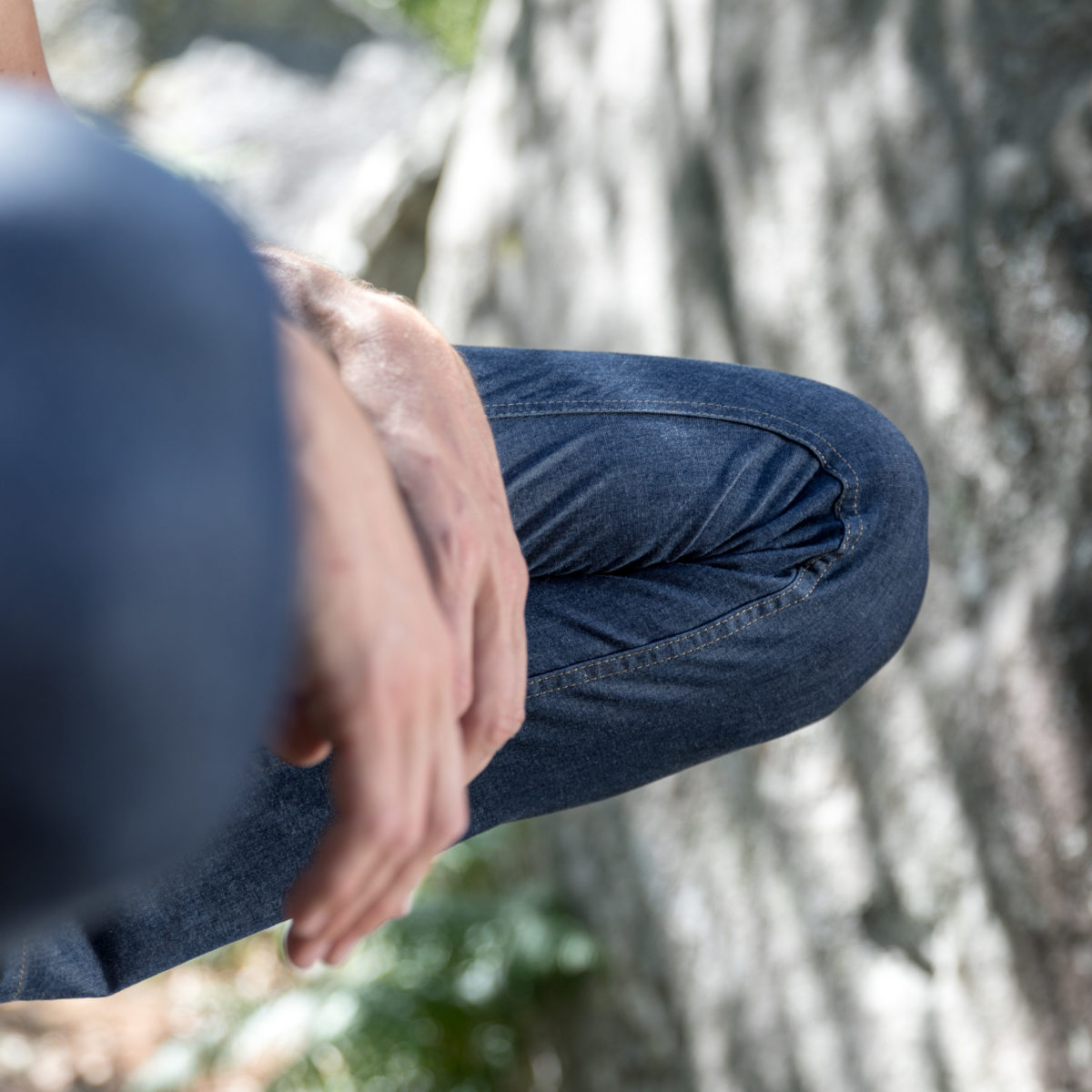 4 way stretch jeans for climber