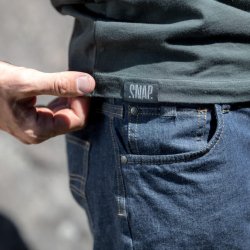 denim shorts for man SNAP Climbing