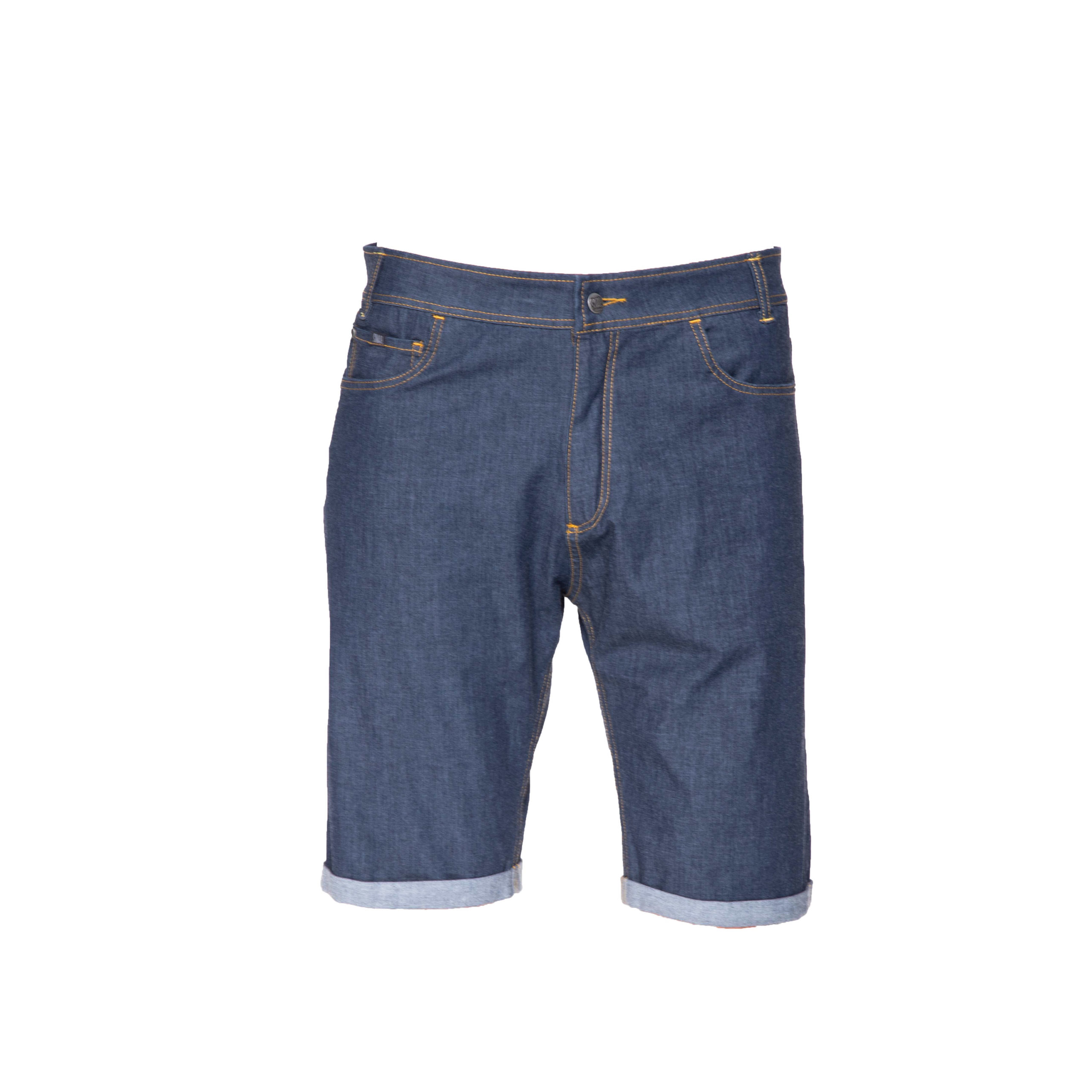 slim jeans shorts for man