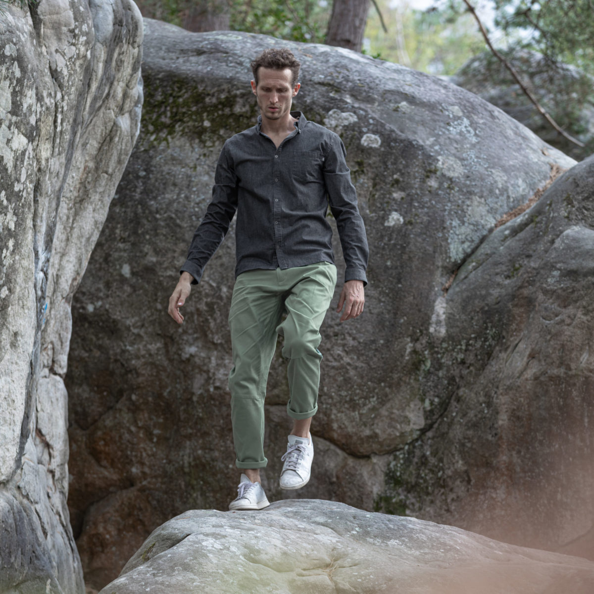 jeans shirt for climbing