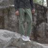 jeans shirt wide pants details