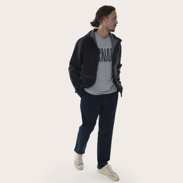 shell jacket for man