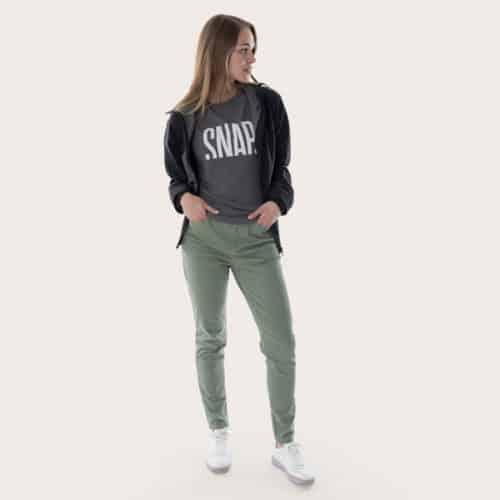 kaki pants for woman organic cotton