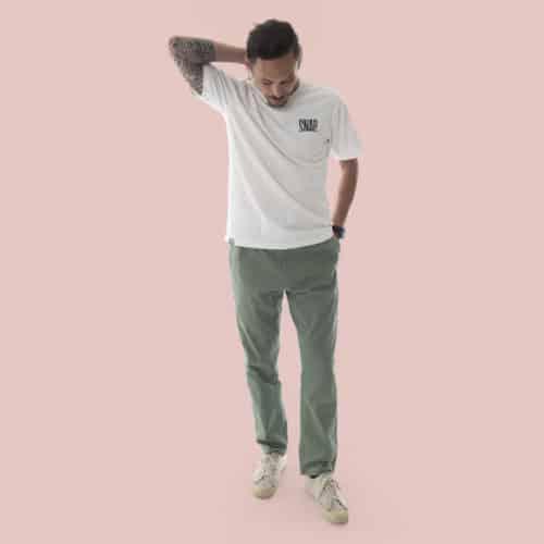 street wear kaki pants for man