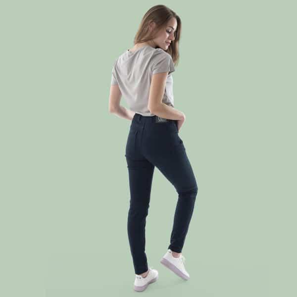 high rise waist pants