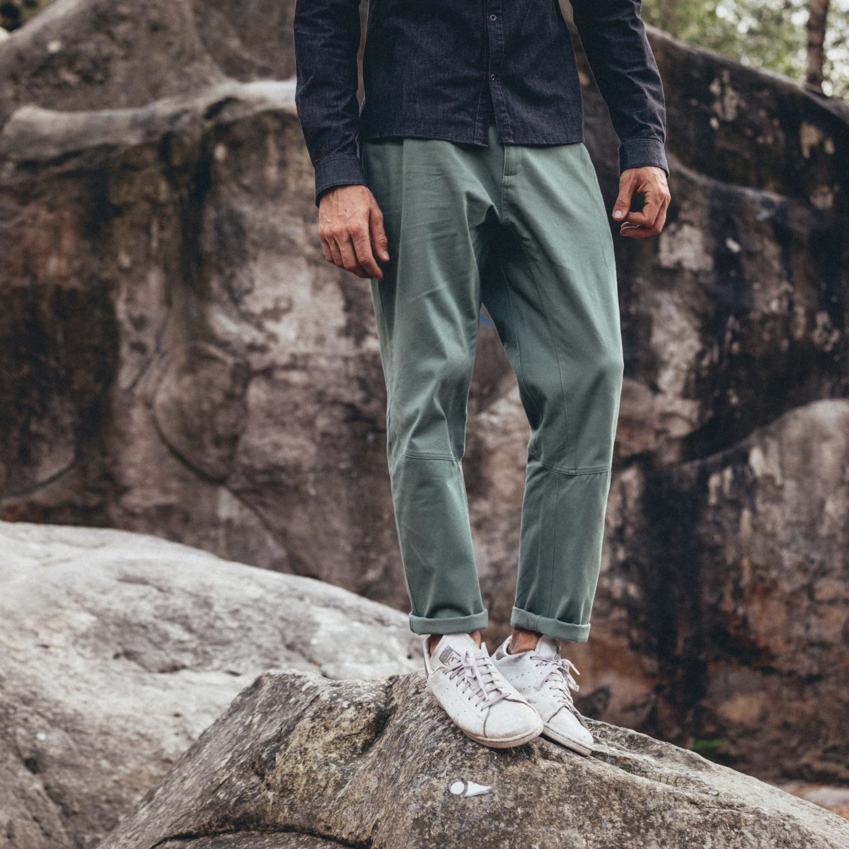 large pants for man stretch