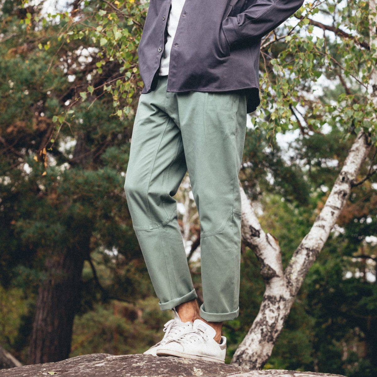 large and stretch pants for man