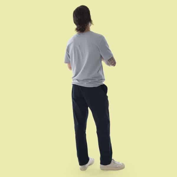 dark blue pants organic cotton