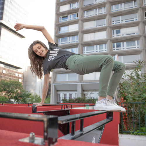 kaki pants for active women
