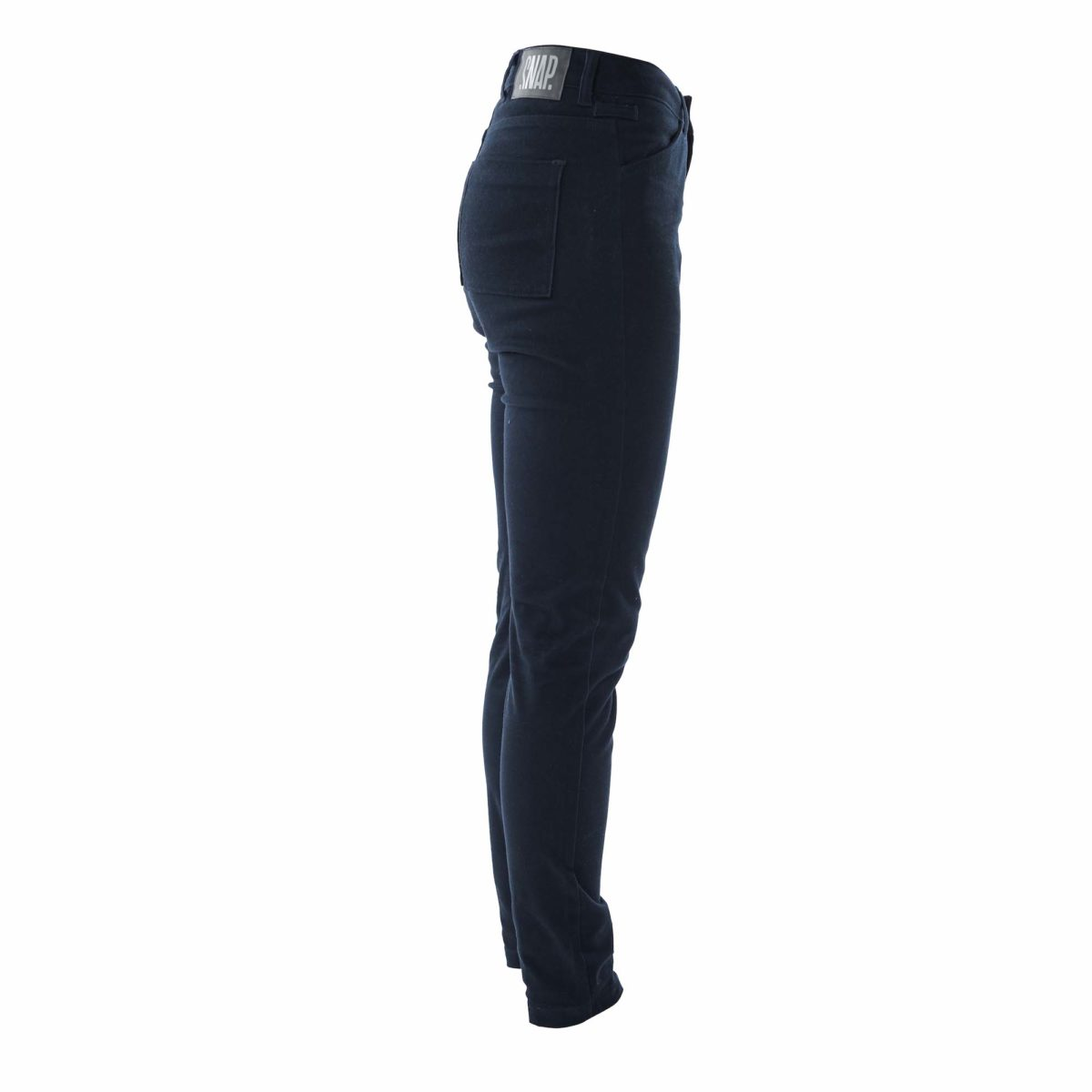 dark night slim high rise pants