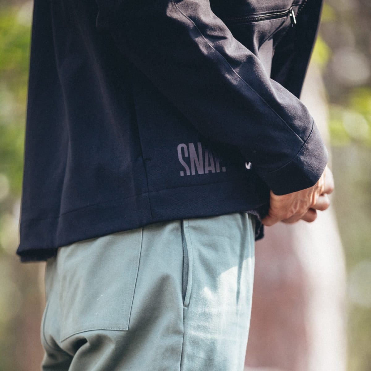 detail shell jacket