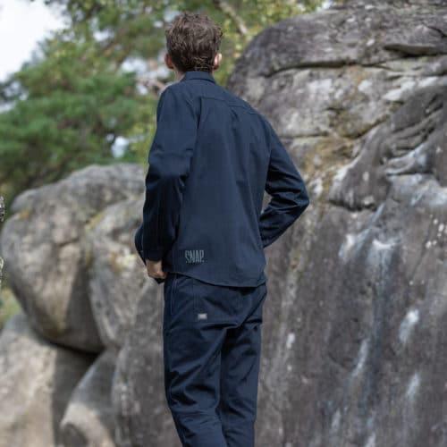 climbing clothing for man, overshirt