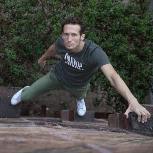 jogging for climber
