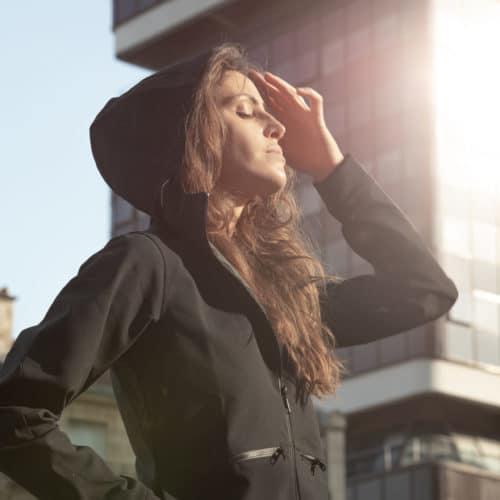 shell jacket woman