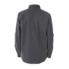 man grey overshirt to climb