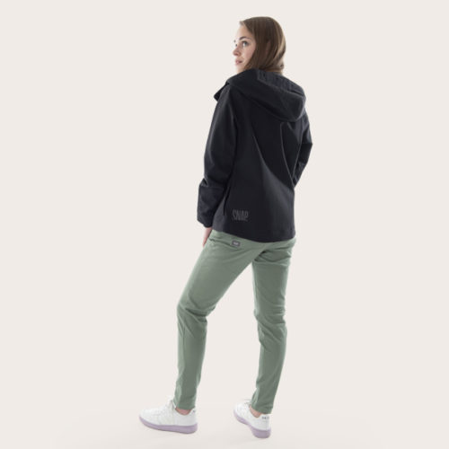 eco-friendly shell jacket for woman