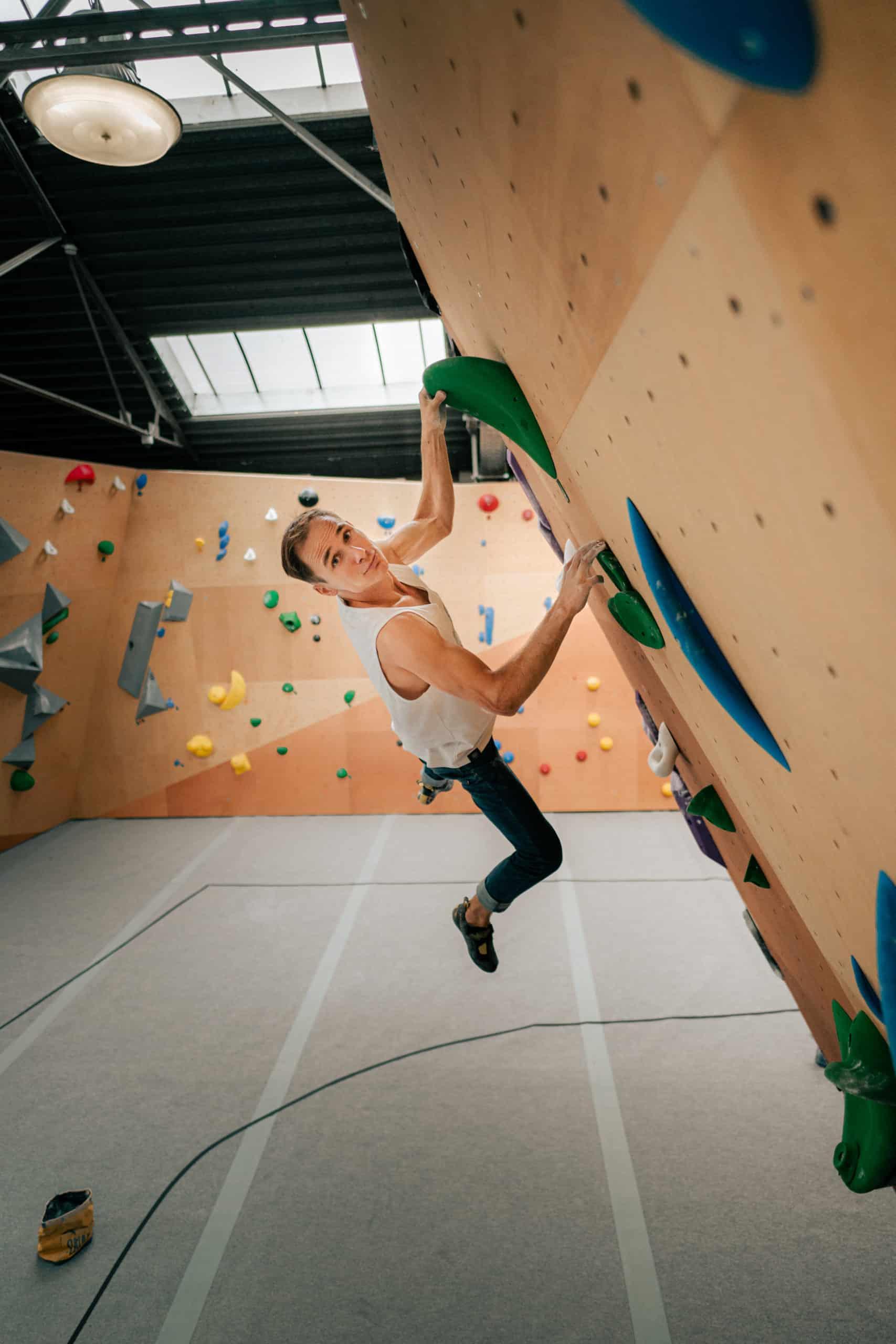 Jeremy Bonder, objective Olympics 20 I SNAP Climbing.com