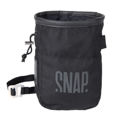 chalk bag black recycled polyester