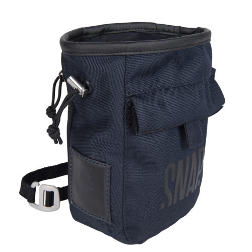 dark night chalk bag for climbers