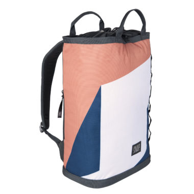 feminine backpack bright colors