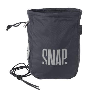 black chalk bag snap