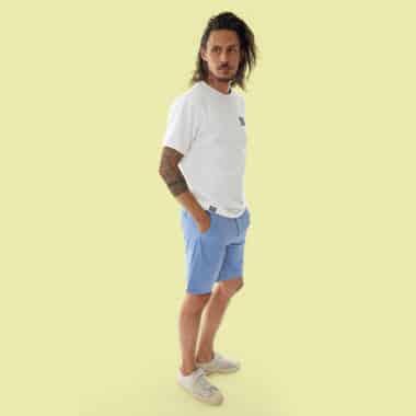 chino water shorts snap