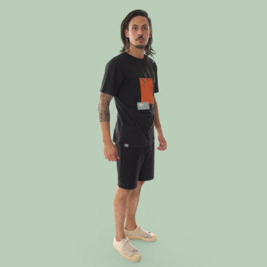 black climbing tshirt