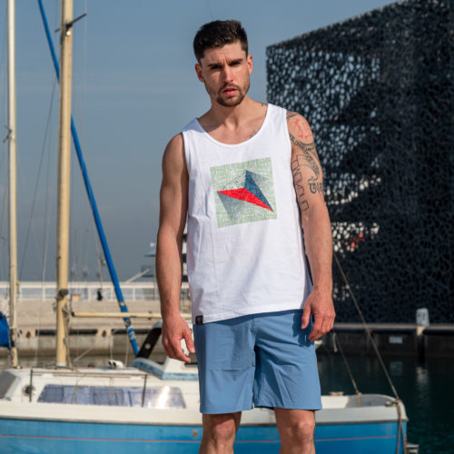 Astro tank top organic cotton